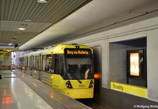 Manchester Metrolink, 3050, Piccadilly