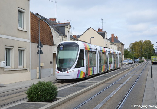 Tram Angers, 1014, St. Gilles