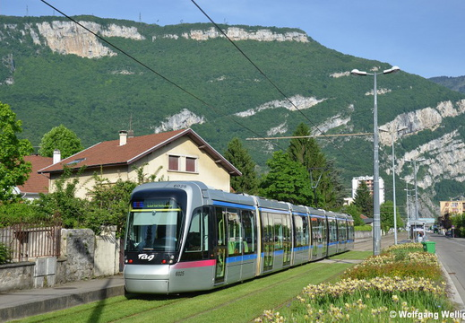 Tramway Grenoble, 6025, Charles Michels