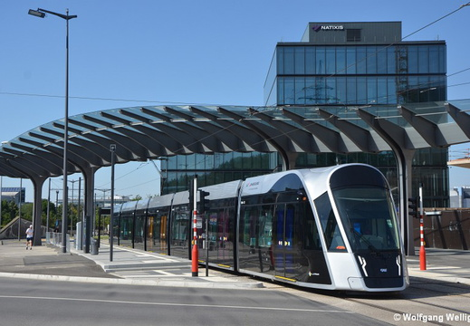 Tram Luxembourg, 106, Luxexpo