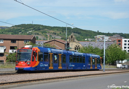 Sheffield Supertram, 110, Netherthorpe Road