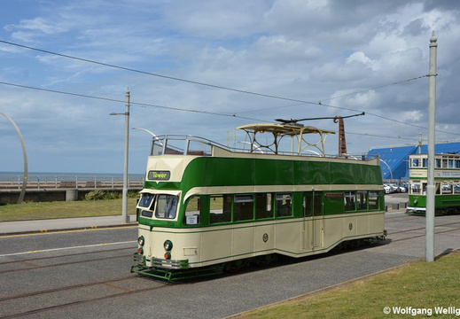 Blackpool Tram 706, Pleasure Beach