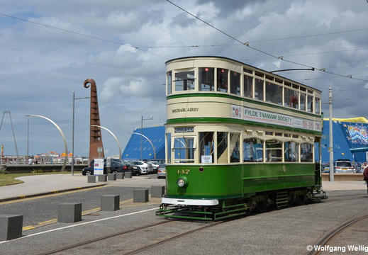 Blackpool Tram 147, Pleasure Beach