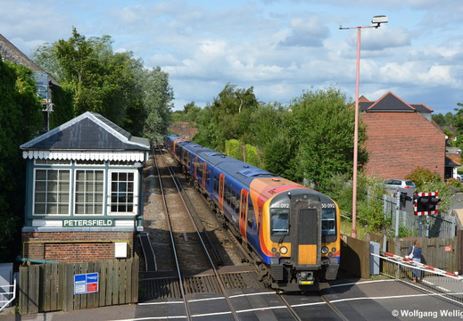 South West Trains 450 092, Petersfield