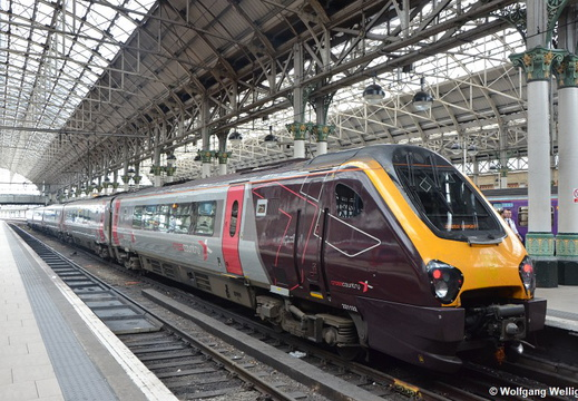 CrossCountry 221 132, Manchester Piccadilly