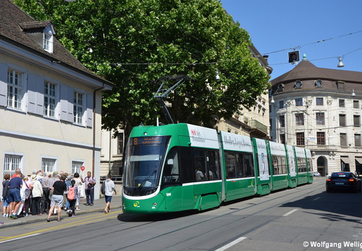 Tram Basel, 5044, Bankverein