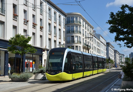 Tram Brest, 1005, Chateau